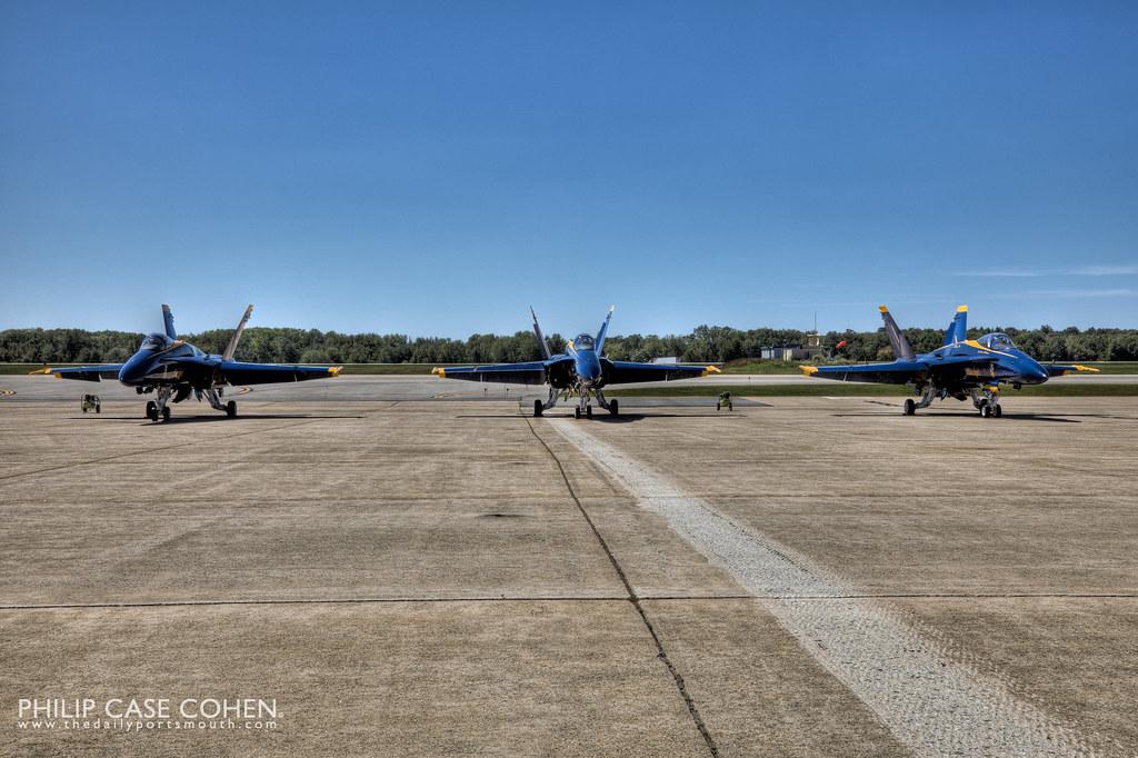 Blue Angels Pre-Flight by Philip Case Cohen