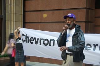Make Big Oil Pay march to Chevron, EPA & BP 180