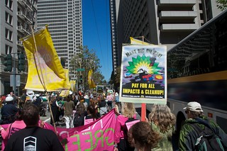 Make Big Oil Pay march to Chevron, EPA & BP 124