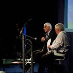 Alistair Darling talking to Brian Taylor |