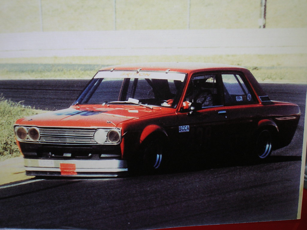 1972 Datsun 510 SCCA Race Car Project For Sale Track | Flickr