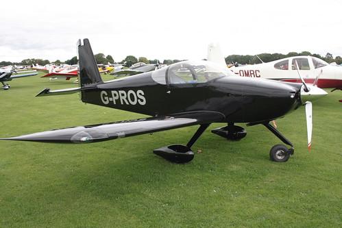 G-PROS Vans RV-7A [PFA 323-14146] Sywell 040915