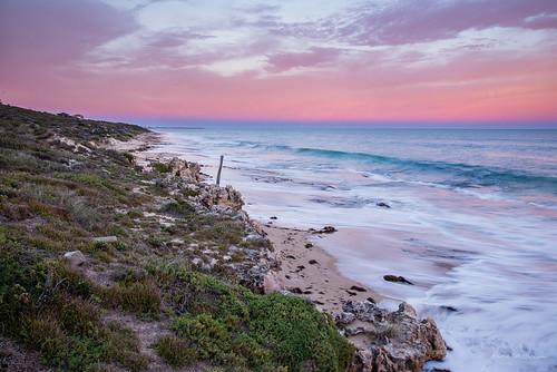 earthshadow hallshead mandurah sunrise wa coast westaustralia