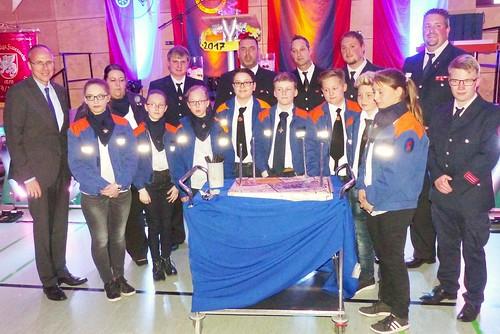40 Jahre Jugendfeuerwehr Erbach