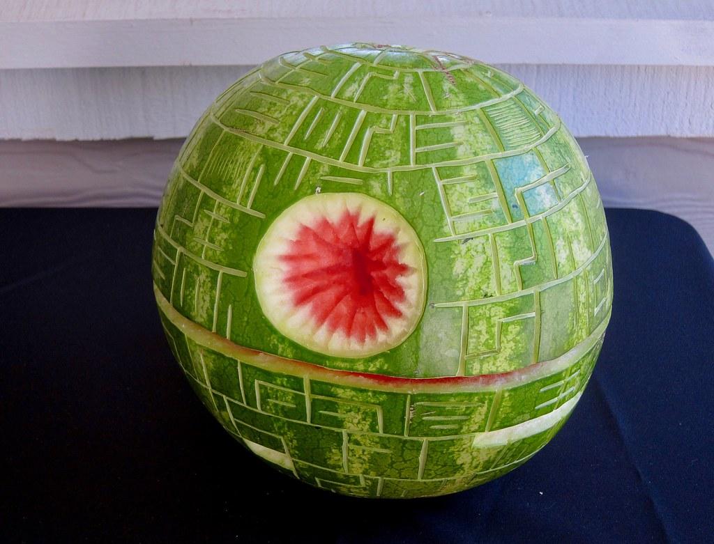 Watermelon Death Star