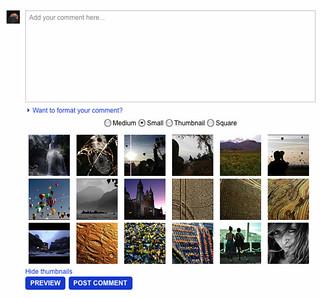 Flickr Easy Photo Post Update