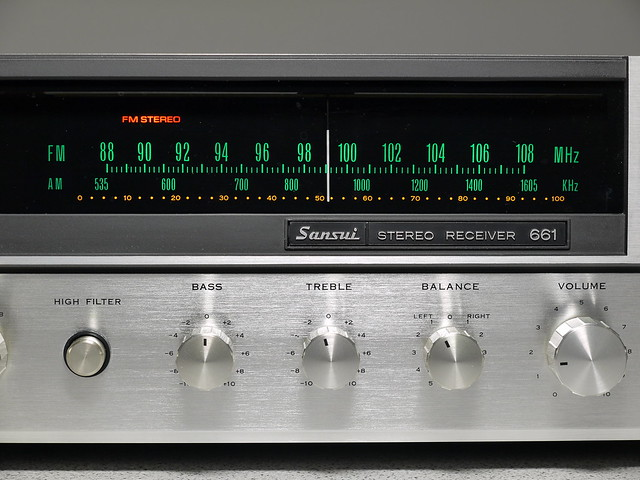 Sansui 661 Stereo Receiver