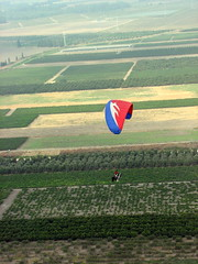 Paramotor Launch near Aloney Itzhak Paragliding