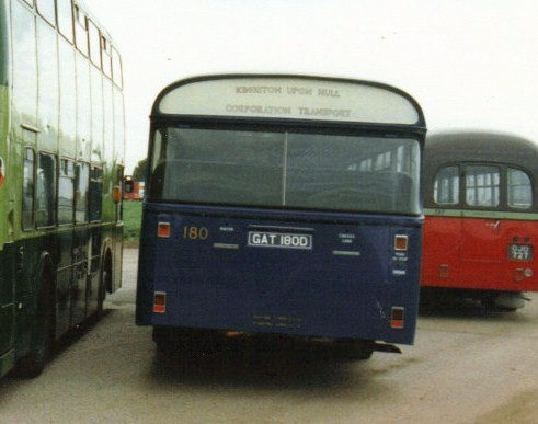 180, GAT 180D, Leyland Panther (2), Roe Body, 1966 (t.1992)
