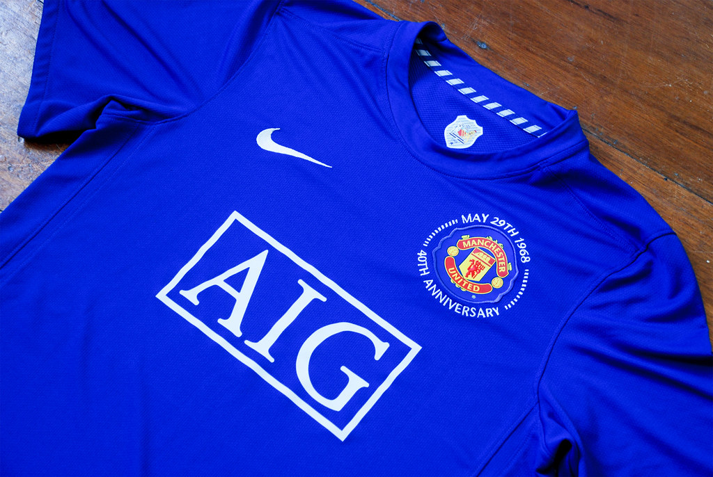competitive price 67969 ad41b Manchester United 2008-09 Third Kit... | I just got this in ...