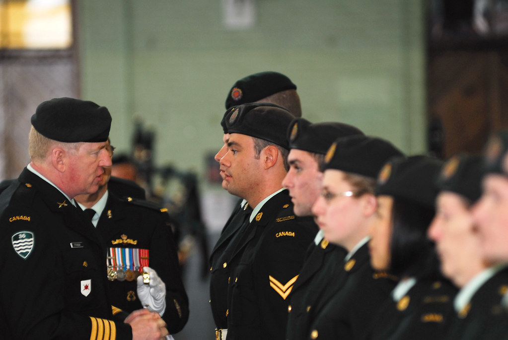 Amalgamation ceremonies of 36 Service Battalion | Halifax, N
