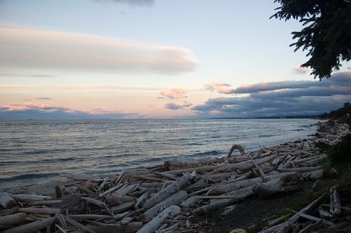 sunset canada d50 britishcolumbia vancouverisland driftwood campbellriver
