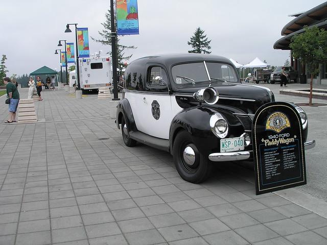 Washington State Patrol - 1940 Ford