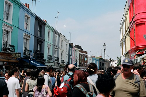 portobello market, packed | by unicellular