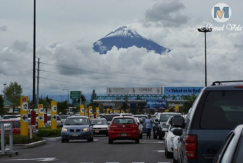 DSC00338 Majestuoso e imponente luce el Volcán Popocatépetl por LAE Manuel Vela