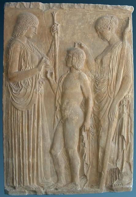 -0435 Deméter, Triptólemo y Perséfone