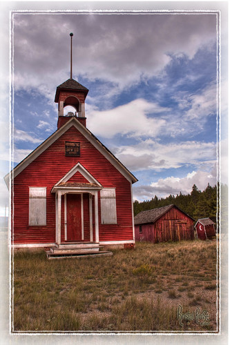 Red School House | by Kristal Kraft ~ DenverDwellings