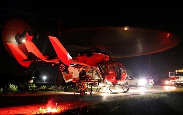 Pasadena (Texas) Volunteer Fire Department - 2007 Eurocopter Deutschland EC-145 (MBB-BK 117 C-2) - N452MH,