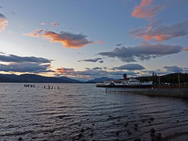 Loch Lomond, Scotland sunset