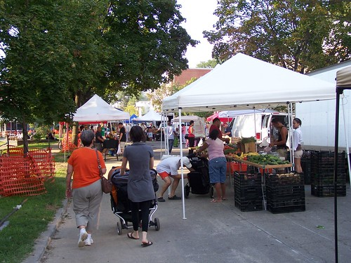 There is a new farmers market in Petworth on Friday </p><p>evenings