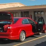 Motel e auto a noleggio