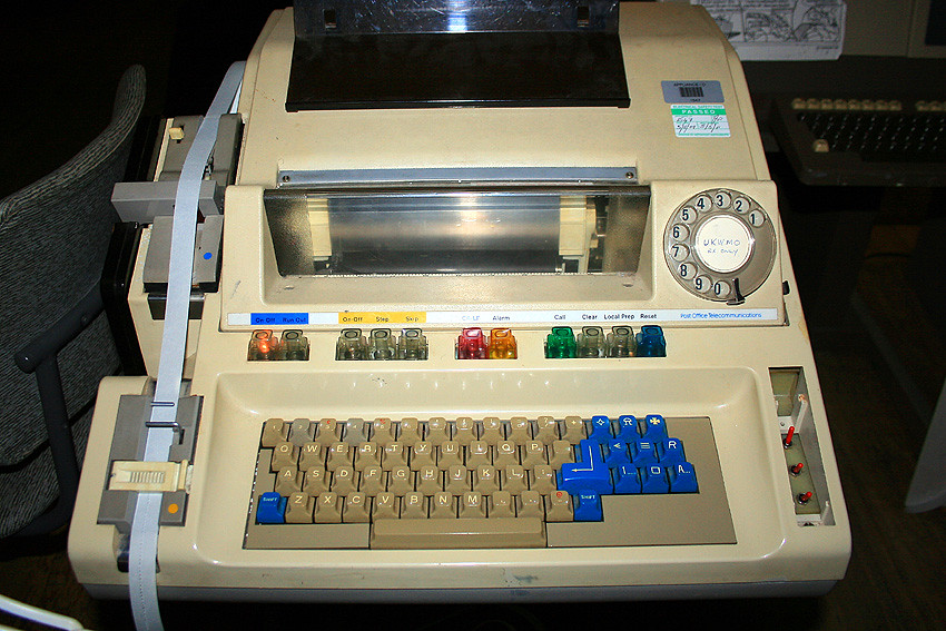 Computer Teleprinter/Telex | Not a USB or Firewire port in ...