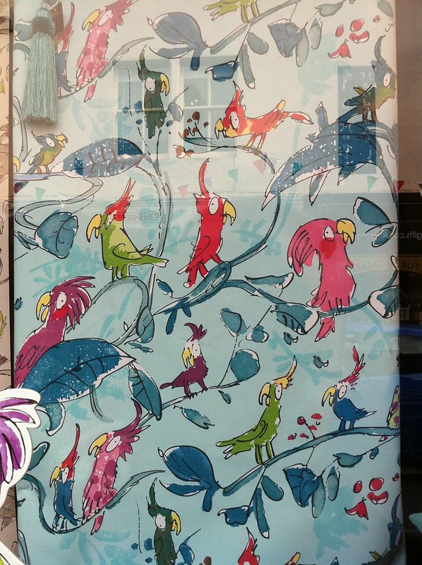 Quentin Blake fabric