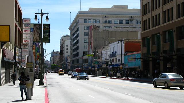Urban Street Life - Los Angeles Downtown