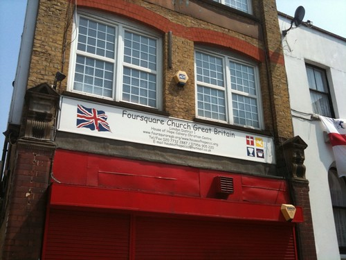 The Church of @Foursquare is alive and well in Peckham, Great  Britain! | by Manne