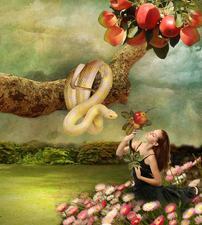 The temptation of Eve | by jaci XIII
