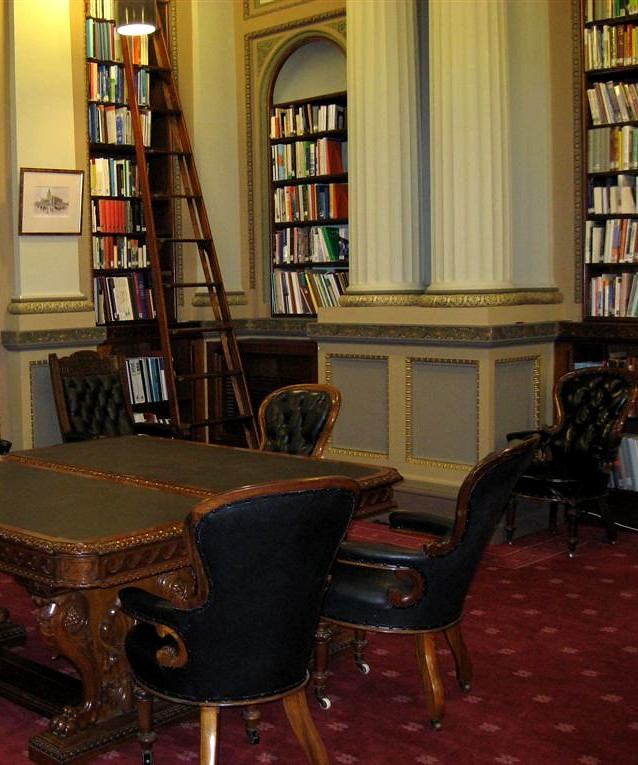 Victorian Library Room: Victorian Parliamentary Library