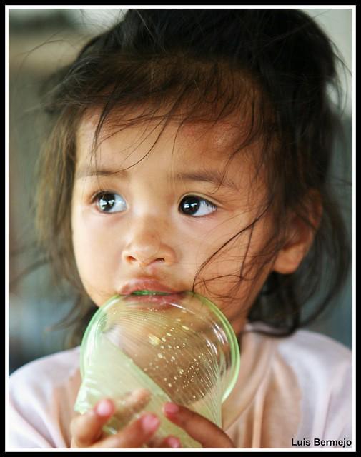Mirada de esperanza - Tailandia