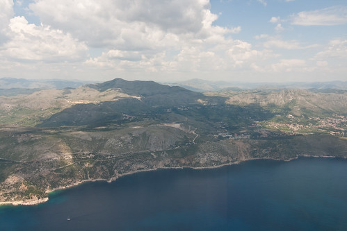 Croatian coastline from the air | by annaspies