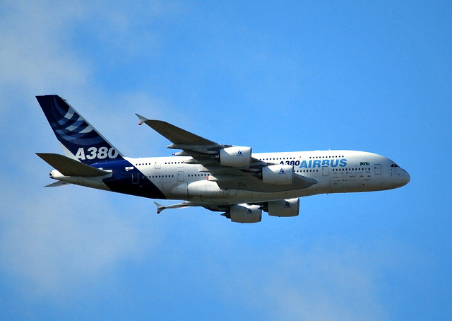 First visit Schiphol: Airbus Industries Airbus 380 (F-WWDD)