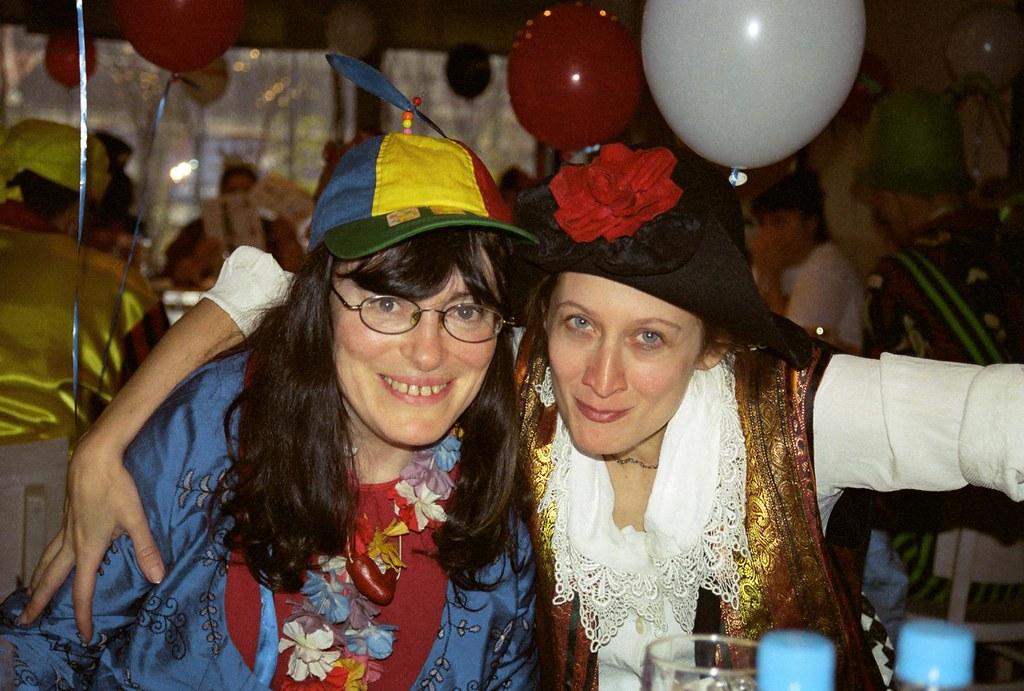 Marina & Maria 1(John Glick/Russia Clown Trip 2004)