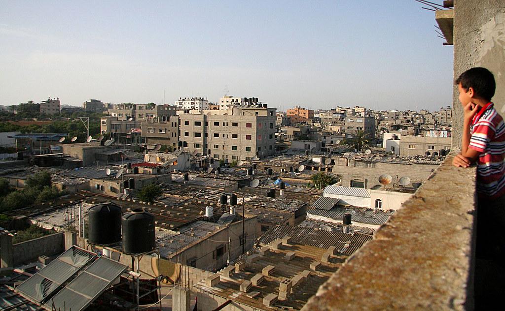 Images from Gaza | A view of Jabalia refugee camp  Jabalia i