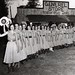 ALC 51.3.2 f.9 4 Luther League Conventions Photographs.  Texas A&M, College Station, TX 'God's Love - My Life' 1955 - Rangerette