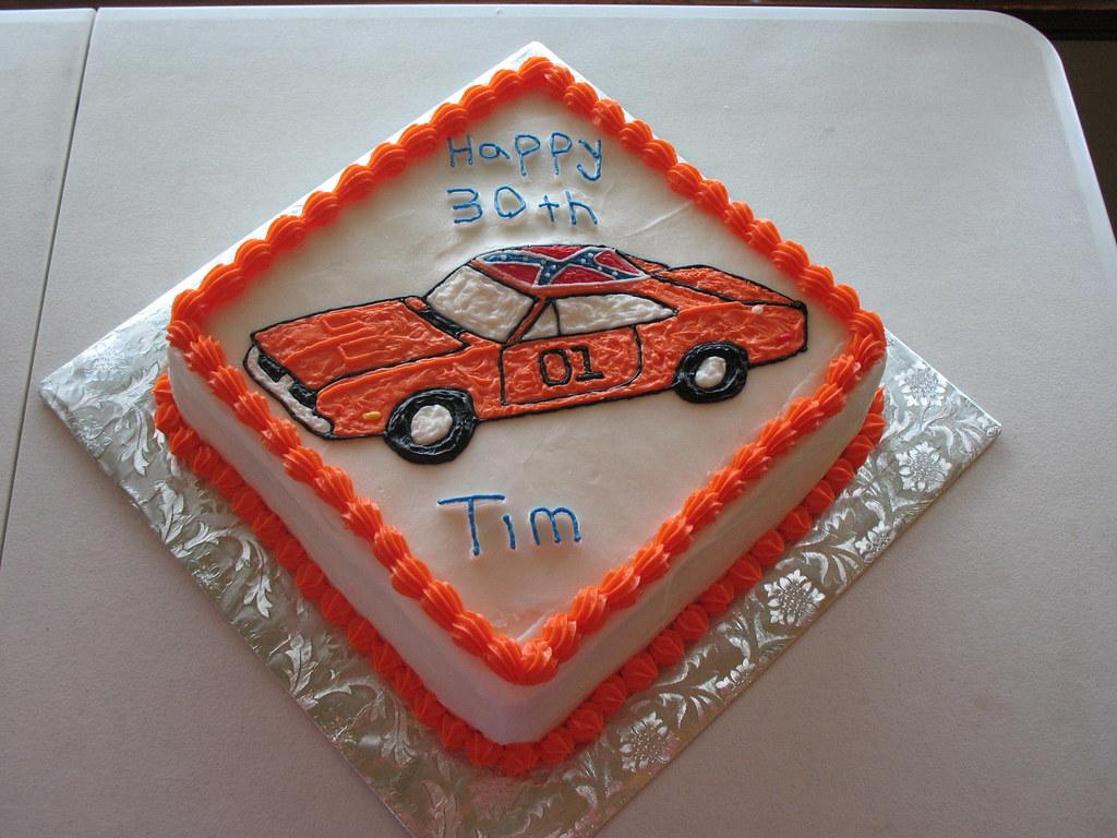 Astonishing Dukes Of Hazzard Cake Tiffany M Flickr Personalised Birthday Cards Arneslily Jamesorg