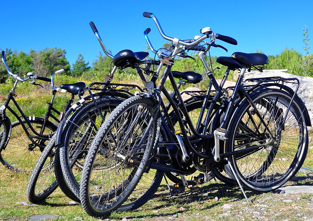 Bikes for Rent (Brevik, Koster, Sweden)