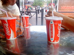 snack time at Hesburger