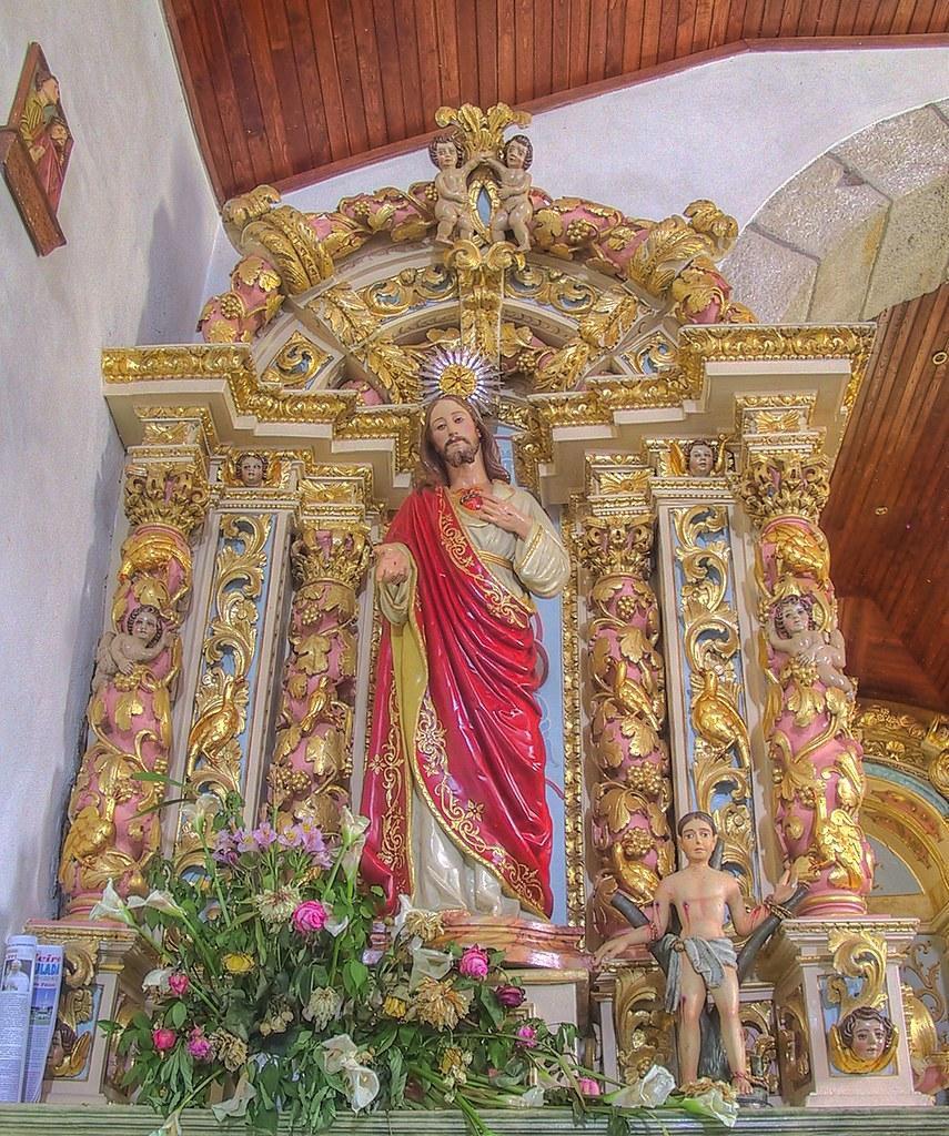 Side altar - Igreja Matriz de Vale das Fontes by Frans Harren