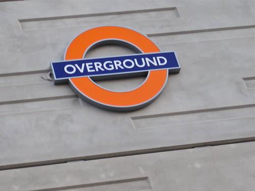 Overground, London UK