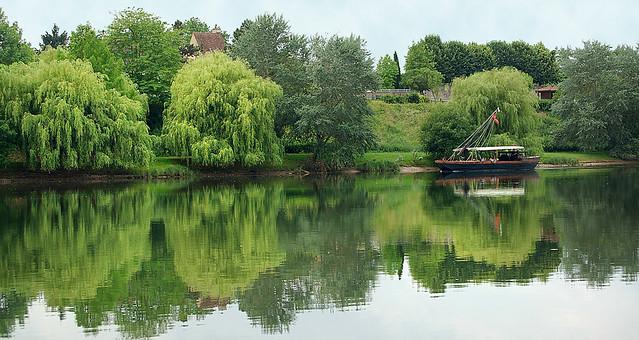 Les rives de la Dordogne - Bergerac (Dordogne)