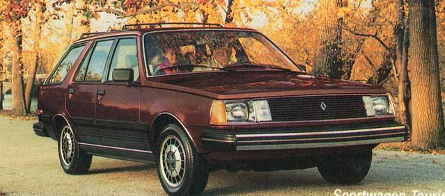 1985 Renault 18i Sportwagon