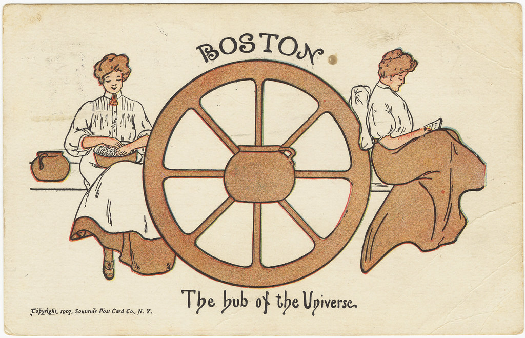 Image result for boston hub of the universe
