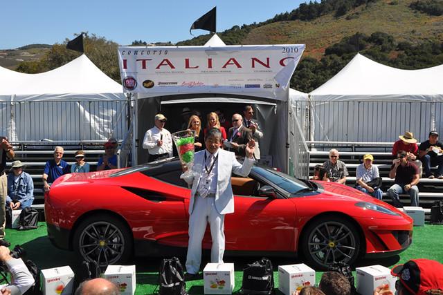 Ferrari winner