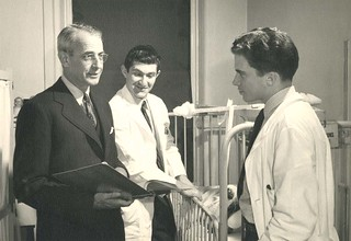Loren Roscoe Chandler (1895-1982) with unidentified persons | by Stanford Medical History Center