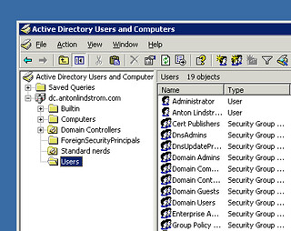 Active Directory | by lindztrom