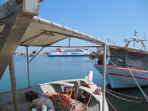 ferry ship harbour greece kavala thassos thasos keramoti thassosvi