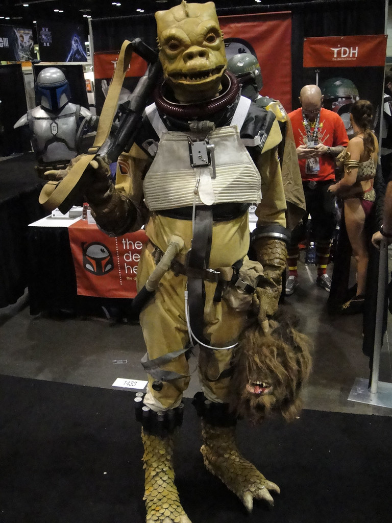 Star Wars Celebration V Amazing Bossk Costume With Wook